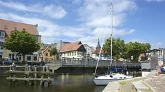 "Drehbrcke am ""Langer Kanal"" Stralsund (Carl-Ernst Stahnke) Tags: hafen brcke stralsund segelboot hansestadt drehbrcke hafeninsel langerkanal"