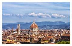 Cartolina da Firenze (forastico) Tags: firenze duomo toscana piazzamichelangelo santamariadelfiore d3200 forastico