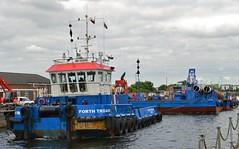 Forth Trojan (38) @ KGV 21-06-16 (AJBC_1) Tags: uk england london boat ship unitedkingdom vessel docklands tugboat tug riverthames eastlondon gallionsreach nikond3200 northwoolwich newham royaldocks multicat londonboroughofnewham cranebarge marineengineering multipurposevessel fortholympian swalshsonsltd kgvlock forthtrojan dlrblog londonsroyaldocks ©ajc kinggeorgevlock swsbreda briggsmarineandenvironmentalservices