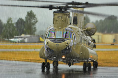 WAR PIG (Swaja's Aviation Art) Tags: oregon portland army us airport nikon aviation helicopter chinook troutdale ch47 kttd d5100