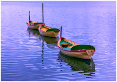 boats (Marcin Dallig) Tags: blue light sunset sea lake color nature wet water colors canon landscape boats switzerland boat waterfront outdoor swiss sommer ships pfffikon