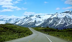 Bear Country - Alaska (JLS Photography - Alaska) Tags: road mountain mountains alaska landscape outdoor glacier mountainside mountainpass mountainpeaks mountainridge mountainpeak alaskalandscape jlsphotographyalaska hainespasses