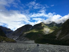 Approach to Fox Glacier