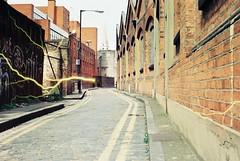 Gunthorpe Street (Tesla) (goodfella2459) Tags: street colour building london history film analog yard 35mm lens jack george nikon martha crime 200 lightning 24mm af nikkor whitechapel milf f4 specialty ripper c41 gunthorpe f28d tabram revolog tesla1