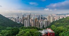 Hongkong (alexhfotoblicke) Tags: hongkong victoriaharbor victoriapeak nikon asia city sigma1224
