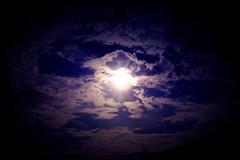 sky (Sebastian Schmeinck) Tags: sun sunset sky clouds light dark darkness himmel sonne wolken abstract minimal perspective blue purple central vignette shadow