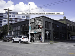 McKale Bros Tire Co and Meltdown Pizza, 1922 and 2016 (Rob Ketcherside) Tags: seattle 1920s capitolhill nowandthen rephotography pikepine