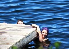 Hanging on the Dock (m.gifford) Tags: summer jon weekend cottagecountry hazel muskoka canadadayweekend longweekend canadaday2016