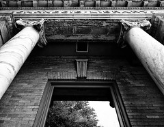A Different View (TuthFaree) Tags: building brick window wall ga georgia library columns elements marble ornate hww swga sliverefexpro windowwednesday wallwednesday