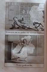accidents_de_lenfance_gravures3 (BiblioMab) Tags: accident maison enfant prevention feu morale ducation gravure scurit estampe livreancien livrepourenfant accidentsdomestiques