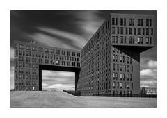 KPN Papendorp (P1nc) Tags: dsc0713 architecture architectuur utrecht monochrome longexposure kpn firecrest 16irnd papendorp
