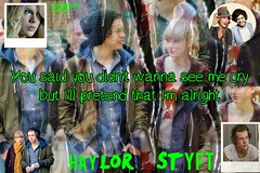Wallpaper of Haylor (ObsessedWithLiam) Tags: wallpaper one im harry direction taylor styles swift alright haylor
