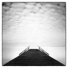 Brygga 3, Ribersborg (c e d e r) Tags: bw white black long exposure sweden malm fineartphotography ribersborg