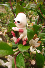 Croustille la Chenille 10 (The Maman Panda) Tags: cute doll artist ooak clown caterpillar bjd resin poupe tendres chimeres