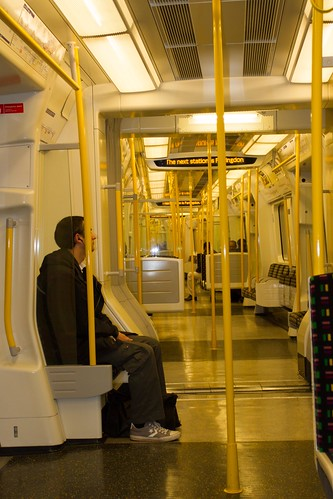 New Tube Trains almost empty