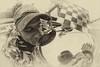 Tony Kanaan kisses the Borg Warner (IndyCar Series) Tags: camera speed canon eos mark 5d length mode rating 151 3focal 51iso iiiexposure 1500fnumber 160metering