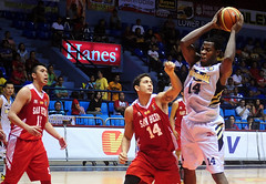 FilOil 2013: NU Bulldogs vs. San Beda Red Lions (inboundpass) Tags: