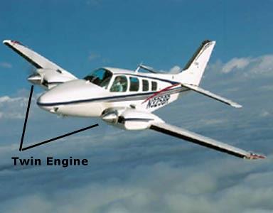 Photo - Plane Type: Twin Engine