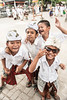Festive Mood, Bali (syukaery) Tags: people bali tourism boys kids children indonesia temple happy nikon child faith religion joy ceremony laugh ritual nikkor hindu hinduism pura kuningan humaninterest 28105mm sakenan seranganisland piodalan