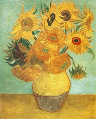 Sunflowers by Van Gogh (dr.hammie) Tags: paintings vangogh