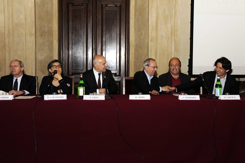 """Milano - Palazzo Marino, 11 giugno 2013, Edoardo Croci al convegno  """"Risultati e attese sui 5 referendum per cambiare Milano"""""""