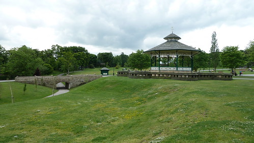 The Bandstand Greenhead Park Huddersfield Yorkshire