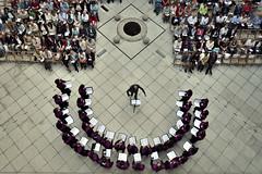 Concierto fin de curso 2012-2013. Coro de la UVa en el claustro del Palacio de Santa Cruz (Jos Luis Moyano) Tags: fdv2013