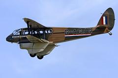 De Havilland DH89A Dragon Rapide G-AGJG (Andy C's Pics) Tags: duxford dehavilland imperialwarmuseum iwm dragonrapide dehavillanddh89adragonrapide dh89a gagjg