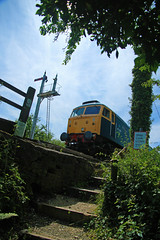 STOP, LOOK, LISTEN  Beware Of Trains (Stephen Robb Photography) Tags: from blue 2 sky sun london english water electric canon corporate chopper br view princess you photos brothers or 4 scottish rail somerset brush class reservoir butterly user dorset type british brake everyone 20 van railways 3f freight 47 midland coronation mrc waggon duchess sulzer livery lms 24105 24105mm 20148 550d 1585 46233 mrcbutterly