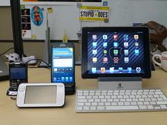 Gadgets Evolution (Oasisantonio) Tags: apple nokia technology blackberry samsung rim ios gadgets android ipad maemo 8330 n900 galaxynoteii