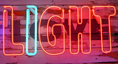 Neon Light (TheNotQuiteFool) Tags: light neon gods junkyard own