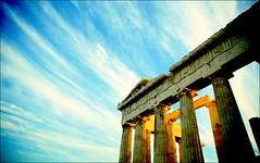 Spirit of Athens #goodmorning #colorsofGreece #bringthegreeksculpturesbackfromtheBritishMuseum (nikosaliagas) Tags: canon athens parthenon greece 5d grece acropole athènes markiii