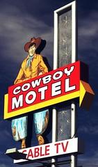 Cowboy Motel - Amarillo, TX (Lon_Donner) Tags: amarillo vintagemotelsigns