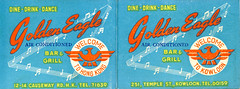 Hong Kong bar advertisements (jericl cat) Tags: china modern illustration bar vintage paper hongkong golden design dance eagle drink map air ad chinese grill ephemera advertisement cocktail welcome dine kowloon flier conditioned