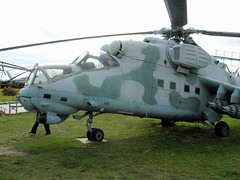 """Mi-24 Hind (11) • <a style=""""font-size:0.8em;"""" href=""""http://www.flickr.com/photos/81723459@N04/9964251206/"""" target=""""_blank"""">View on Flickr</a>"""