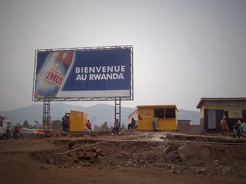 Frontière congolaise, Gisenyi, Rwanda