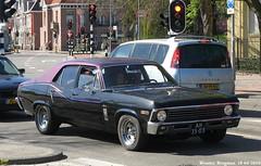 Chevrolet Nova 1969 (XBXG) Tags: auto old usa classic chevrolet 1969 haarlem netherlands nova car vintage us automobile nederland voiture american paysbas ancienne américaine chevroletnova ah3503