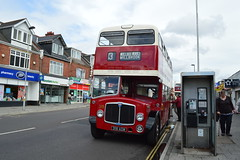 318 318AOW (PD3.) Tags: road city uk england bus tree buses docks marketing pier centre royal pb hampshire corporation southampton regent mighty pound bullar 318 psv pcv eastleigh aec aow hants portswood 318aow