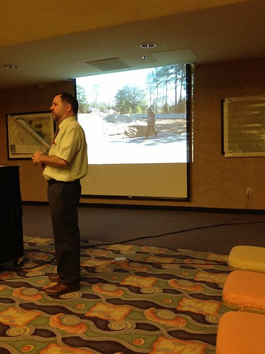 """Sinkhole on Snake Nation Road with Prof. Thieme • <a style=""""font-size:0.8em;"""" href=""""http://www.flickr.com/photos/85839940@N03/10670794716/"""" target=""""_blank"""">View on Flickr</a>"""