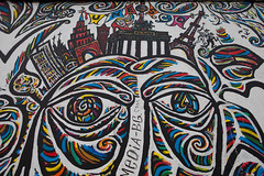 colourful art (dive-angel (Karin)) Tags: streetart art germany deutschland colourful eastsidegallery berlinermauer 2470mm eos5dmarkii