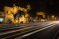 7C1A9987-2 (Liaqat Ali Vance) Tags: road old pakistan building architecture night build