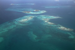 Flying out of Los Roques (marcwiz2012) Tags: blue southamerica water island turquoise venezuela aquamarine fromabove tropical caribbean losroques