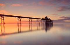 Clevedon Sunset (peterspencer49) Tags: sunset pier somerset bristolchannel clevedonpier