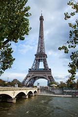 Across the Seine (KevJos) Tags: bridge paris france tower seine river eiffel