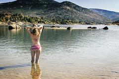 Bathing in the sun (Mark B. Duncan) Tags: madrid photobook paisaje embalse