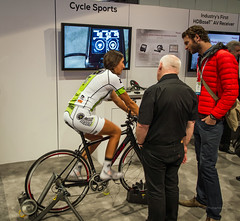 CES (2014)-50 (Swallia23) Tags: smart lasvegas laptop nevada computers ces pioneer receiver phones av tablets boothbabe lasvegasconventioncenter cycleops consumerelectronicshow cyclesports hdbaset monstermediaracing ces2014 cyclesportspedalingmonitorsystem