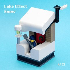Lake Effect Snow (ted @ndes) Tags: snow lego minifig shovel vignette 8x8 8x8x52
