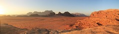 Wadi Rum (www.JnyAroundTheWorld.com - Pictures & Travels) Tags: sunset nature rock sunrise landscape lawrence scenery desert wadirum unesco jordan arabia rum paysage camels wadi coucherdesoleil leverdesoleil jordanie jny lawrencedarabie