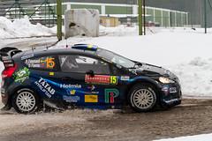 IMG_9406_Marco Rimola_EOS 7D_07_02_2014 (Marco Rimola) Tags: snow classic cars ford ice car fiesta mud sweden rally karlstad wrc sverige rs motorsport drift rallycar rallysweden wrc2 rallysweden2014 hagfrs