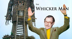The Whicker Man (Parsonago) Tags: man alan wicker wickerman whicker {vision}:{people}=099 {vision}:{face}=099 {vision}:{sky}=0536 {vision}:{outdoor}=0963